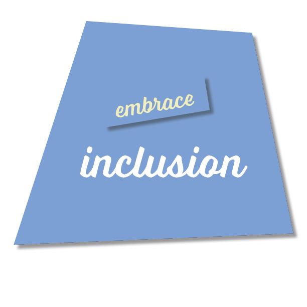 Blue Inclusion