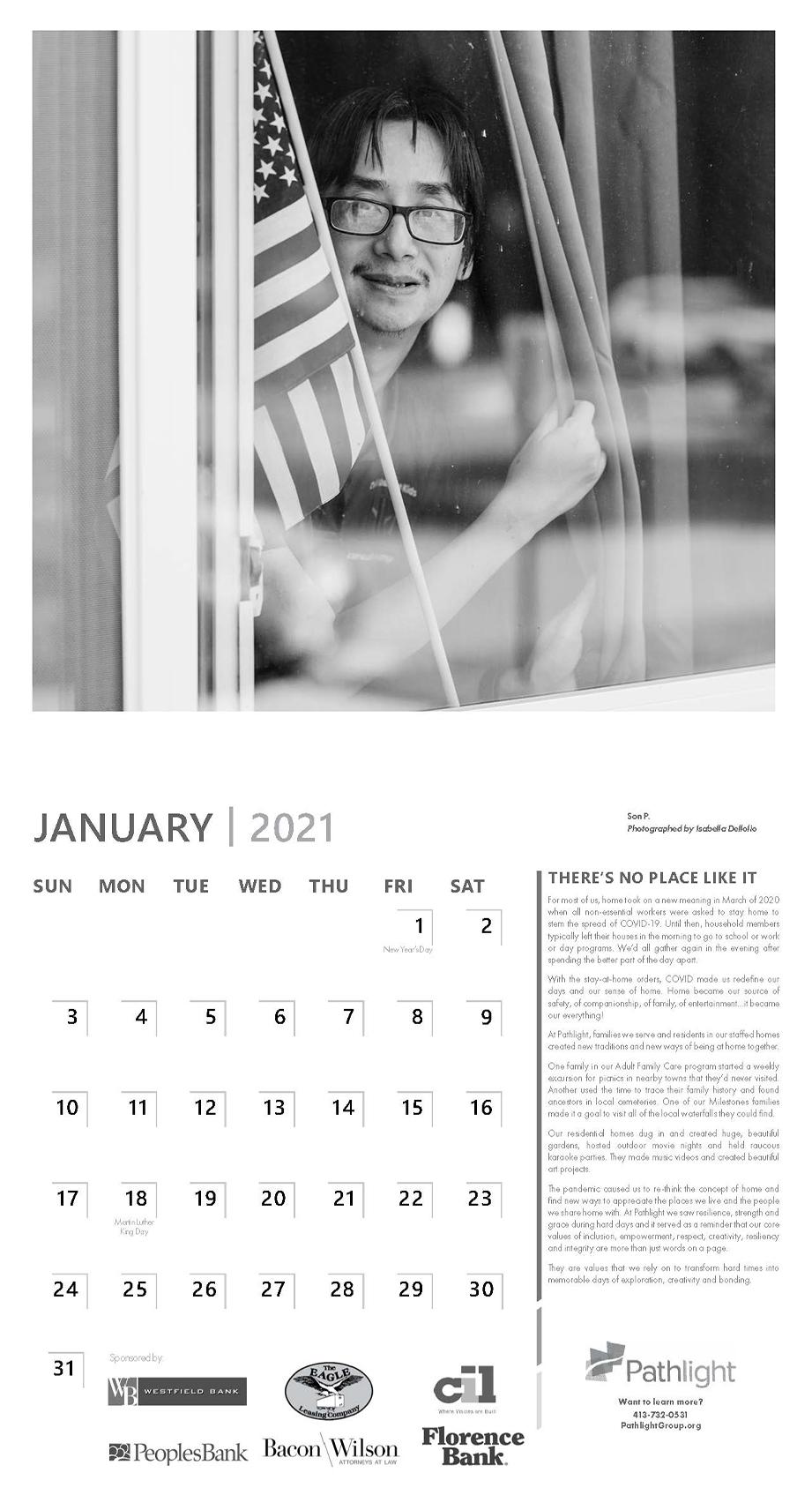 calendar 2021 page