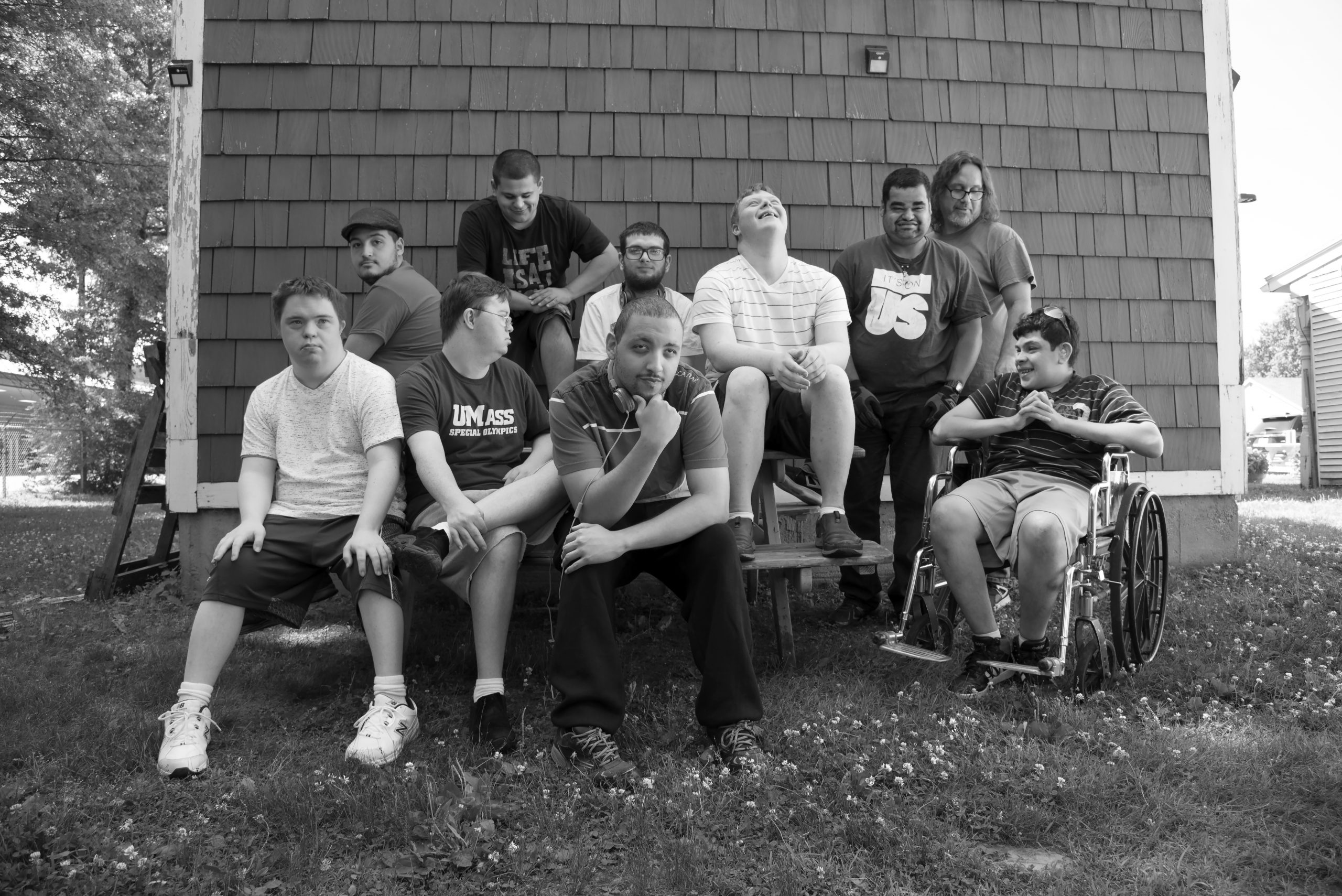 Whole Selves' Men's Group Photographed by Ellen Augarten